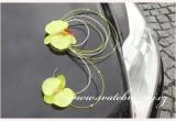 Ozdoby na automobil orchideje