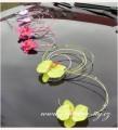 Dekorace na automobil orchideje