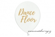 Zobrazit detail - Balónek s potiskem Dance Floor