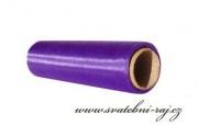 Organza purpurová, šíře 16 cm