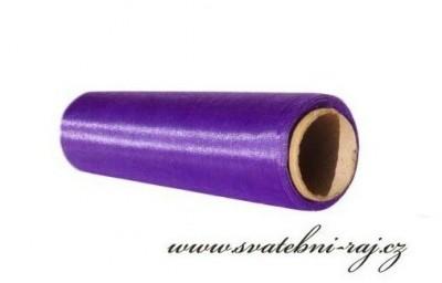 Organza purpurová