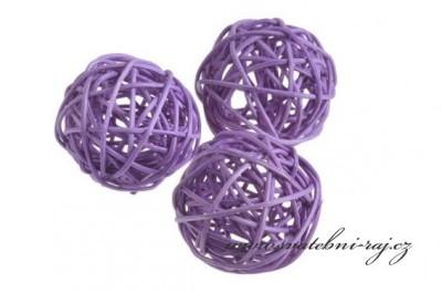Ratanová koule lila