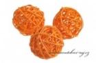 Koule ratanová oranžová