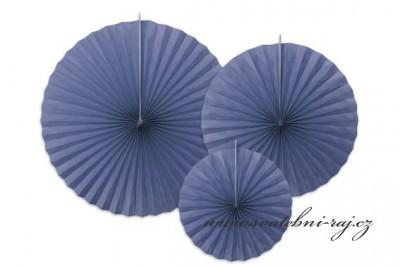 Rozety v barvě navy blue