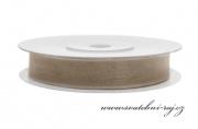 Zobrazit detail - Šifónová stuha latté, šíře 6 mm