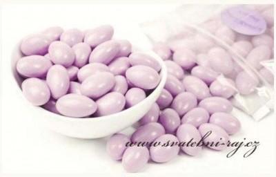 Svatební mandle fialové