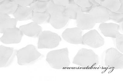 Plátky růží bílé