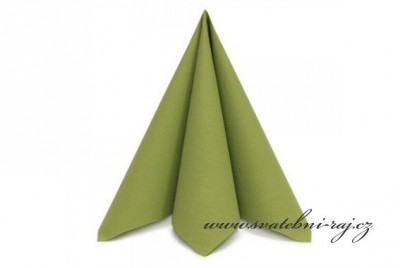 Ubrousky zelené