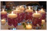 Plovoucí svíčky fialové