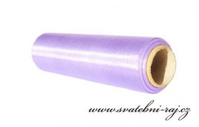 Organza úzká lila