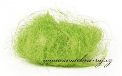 Sisal jablíčkově zelený