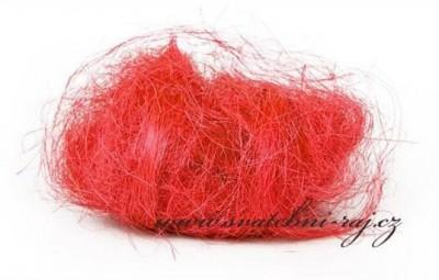 Sisal červený