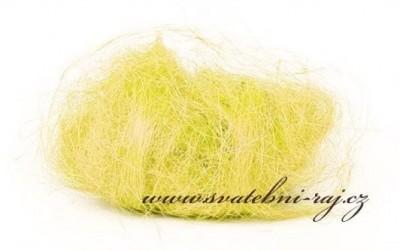 Sisal žlutý