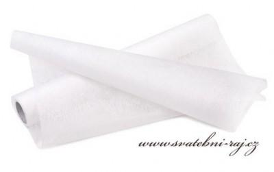 Dekorační vlizelín bílý