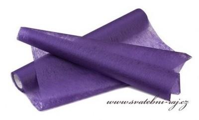 Vlizelín tmavě fialový