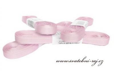 Taftová stuha růžová