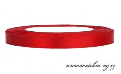 Vývazková stuha červená