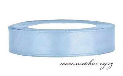 Saténová stuha modrá