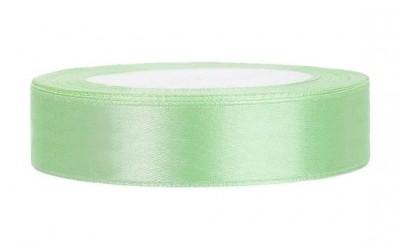 Saténová stuha zelená