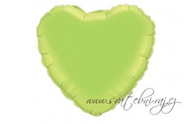 Fóliový balónek zelený