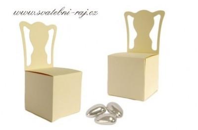Krabička židlička