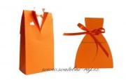 Krabička ženich v oranžové barvě