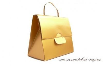 Taštička zlatá