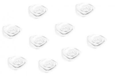 Bílá růžička