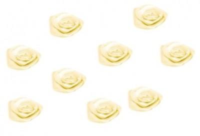 Svatební růžička textilní