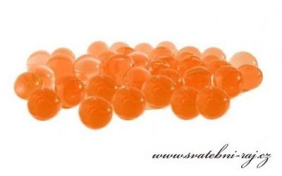 Vodní perly oranžové