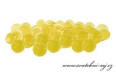 Vodní perly žluté