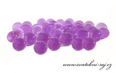Vodní perly fialové