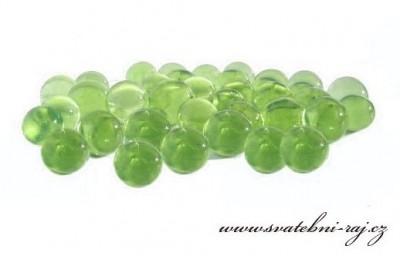 Vodní perly zelené
