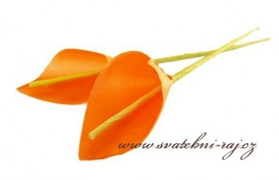 Textilní kala oranžová