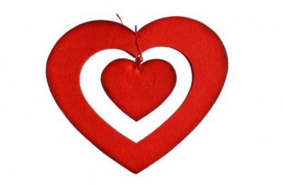Filcové srdce
