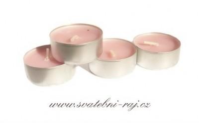 Voňavé čajové svíčky