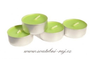 Svíčky zelené jablko