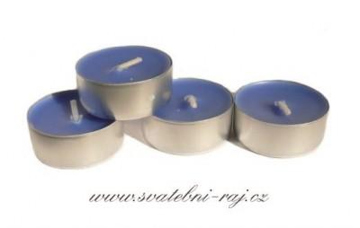 Čajové svíčky na svatbu