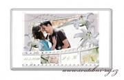 Zobrazit detail - Svatební čokoláda s fotkou a liliemi