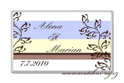 Svatební čokoládky
