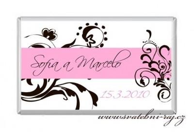 Čokoládka svatba
