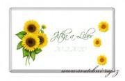 Zobrazit detail - Svatební čokoláda slunečnice
