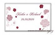 Zobrazit detail - Svatební čokoláda s růžemi