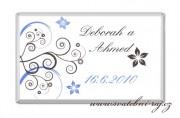 Zobrazit detail - Svatební čokoláda se spirálky