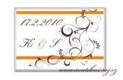 Zobrazit detail - Svatební čokoládka