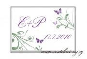 Zobrazit detail - Mléčná čokoládka s motýlky