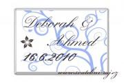 Zobrazit detail - Svatební čokoládka spirálky