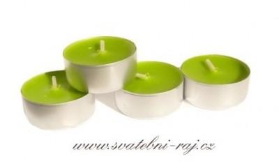 Svatební čajové svíčky