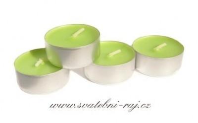 Svíčky aloe vera