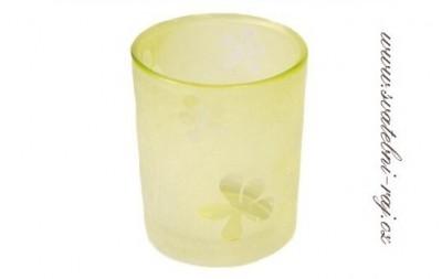 Svíčník sklo
